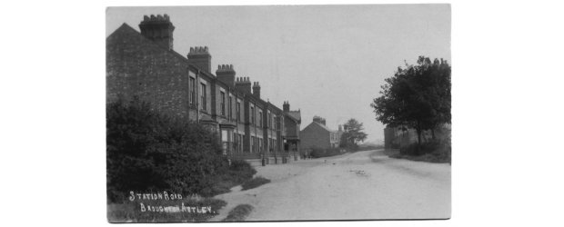 An old picture of Dunton Road