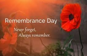 Remembrance Sunday Service -  Online Service at 9.45am