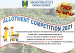 ENTRANTS ARE WELCOME FROM BOTH THE WESTERN WILLOWS SITE AND THE SUTTON SITE.  PLEASE EMAIL: reception@broughton-astley.gov.uk  OR CALL 01455 285655 TO EXPRESS YOUR WISH TO ENTER.  DEADLINE FOR ENTRANTS IS THURSDAY 24TH JUNE 2021. JUDGING WILL TAKE PLACE O