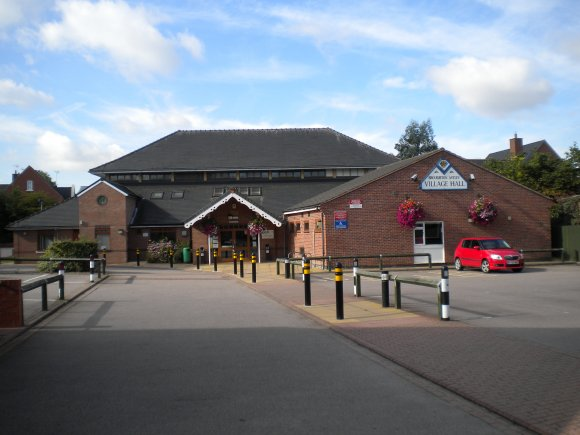 A picture of the village hall